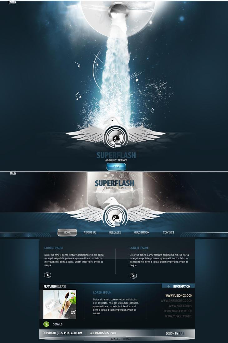 SUPERFLASH - Absolut Trance by WorksByRaj