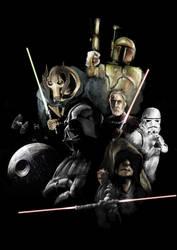 Star Wars : The Siths by WorksByRaj