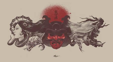 Bushido by WorksByRaj