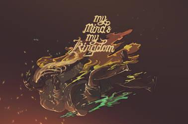 My Mind's My Kingdom by WorksByRaj