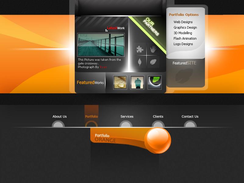 orange_portfolio by WorksByRaj