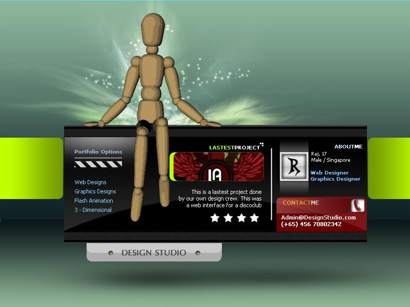 Design_Studio 3D by WorksByRaj