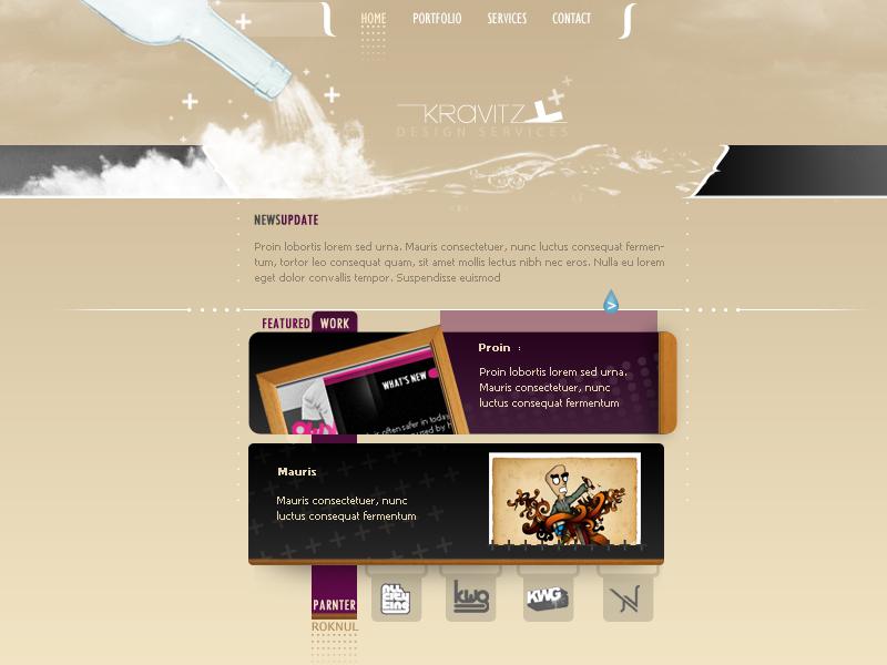 Kravitz.com by WorksByRaj