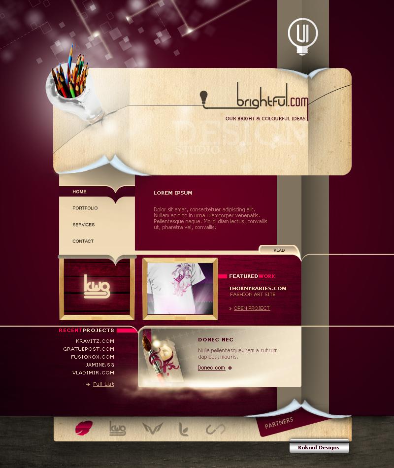 Brightful - Design Studio by WorksByRaj