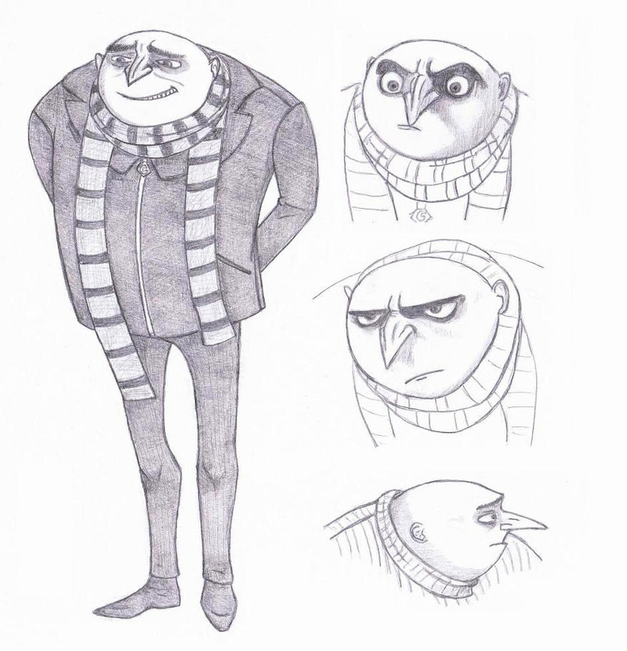 Despicable me gru by yerali on deviantart despicable me gru by yerali altavistaventures Images