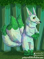 Plant Kitsune