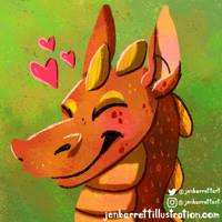 Cutie Dragon Friend