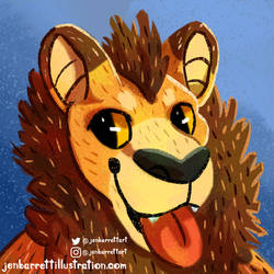 Commission: Dustytuft Icon