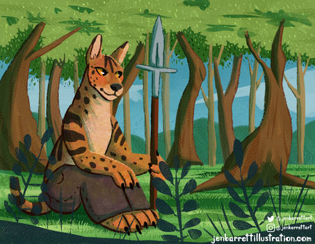 Serval Buddy