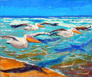Great White Pelicans by etp56