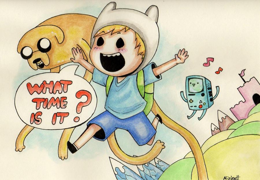 Adventure Time! by Mizkatt