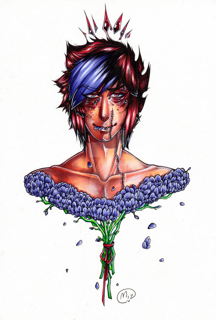 Fragile Flowers by Mizkatt