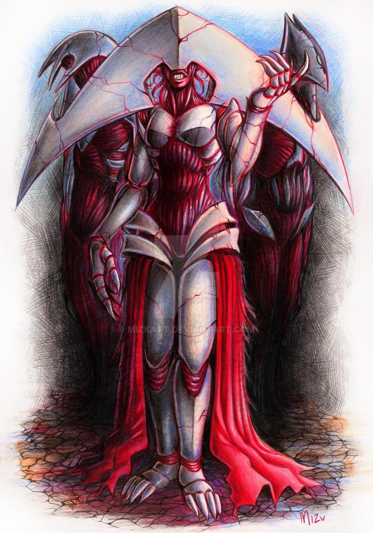 Elesh Norn, Grand Cenobite - Priests of Norn by Mizkatt