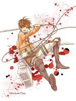 Eren Jaeger by Fuki03