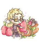 Tsukki and Strawberry Short Cake