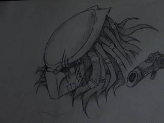 Predator mask by Arcturius-the-Vile