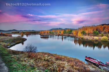 TaiFeng_Lake by heliang912