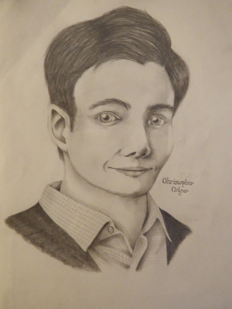 Chris Colfer by BeckettSimpleton