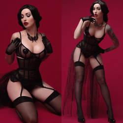 Aesthetics of burlesque