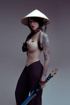 Samurai girl by me