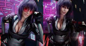 Motoko in Cyberpunk 2077