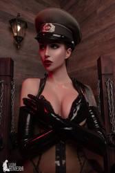 Lady Military fetish