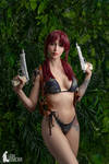 Revy from anime Black Lagoon
