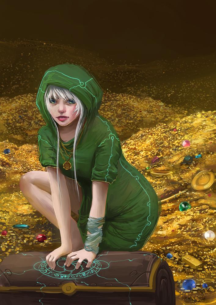 Treasure goblin by GummyInABox
