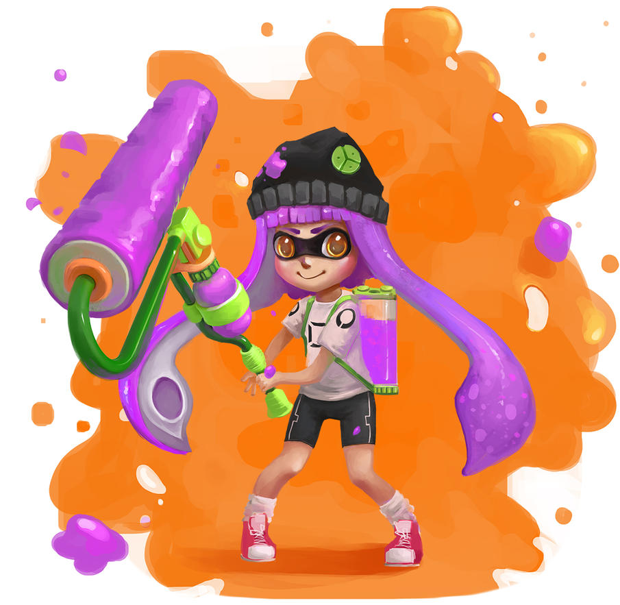 Splatoon by GummyInABox