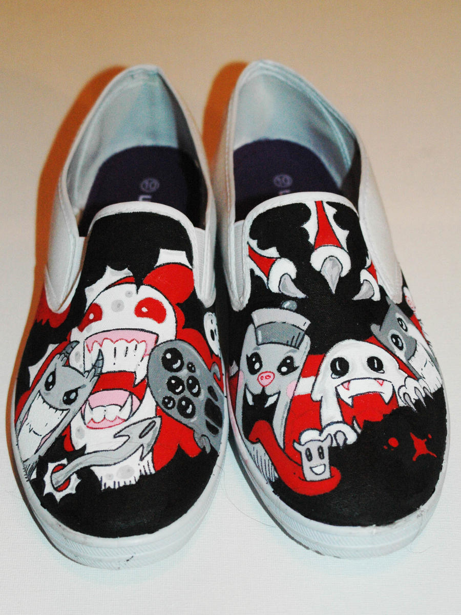 custom shoes by felixartistixcouk on deviantart