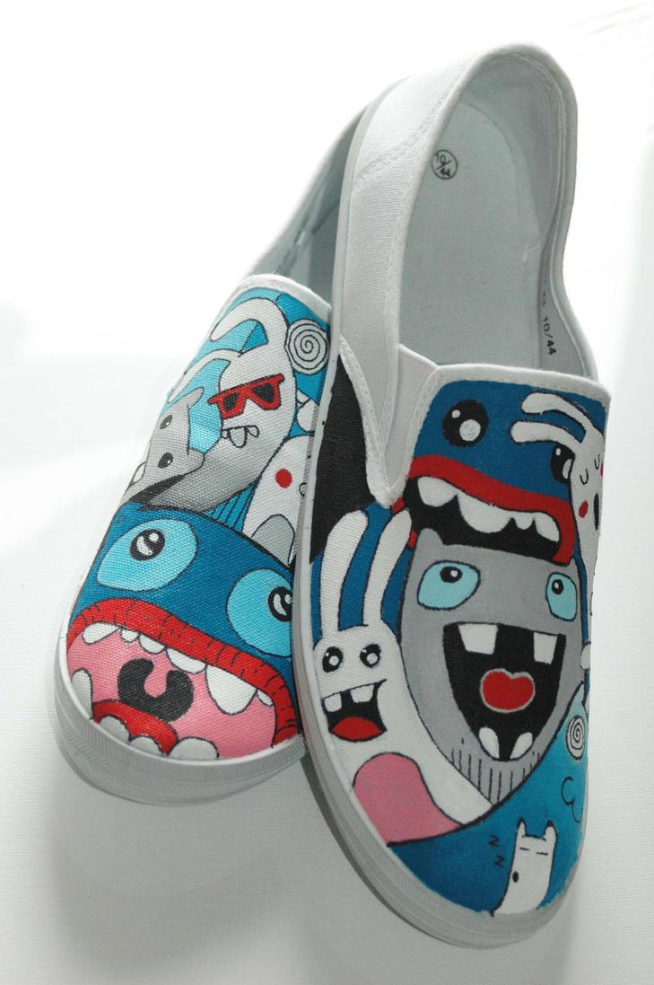 custom shoes 2 by felixartistixcouk on deviantart