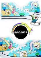 Adventure Time High Tops by felixartistixcouk