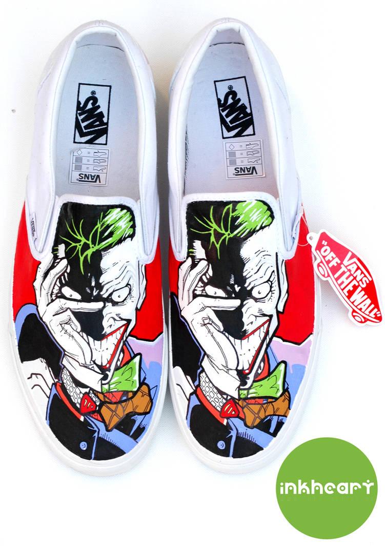71cf10aa76a9 Joker Custom Vans by felixartistixcouk on DeviantArt