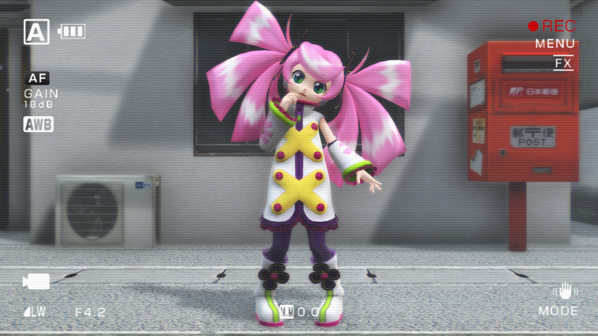 Nana shader test by TinySonixHedgehog