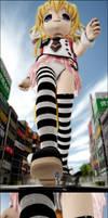 Giantess Konko Walk