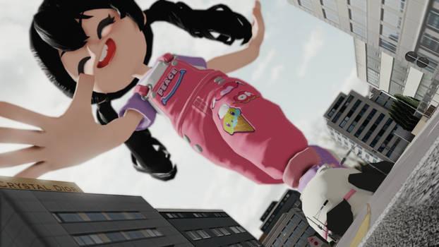 MMD Giantess Rini Fun