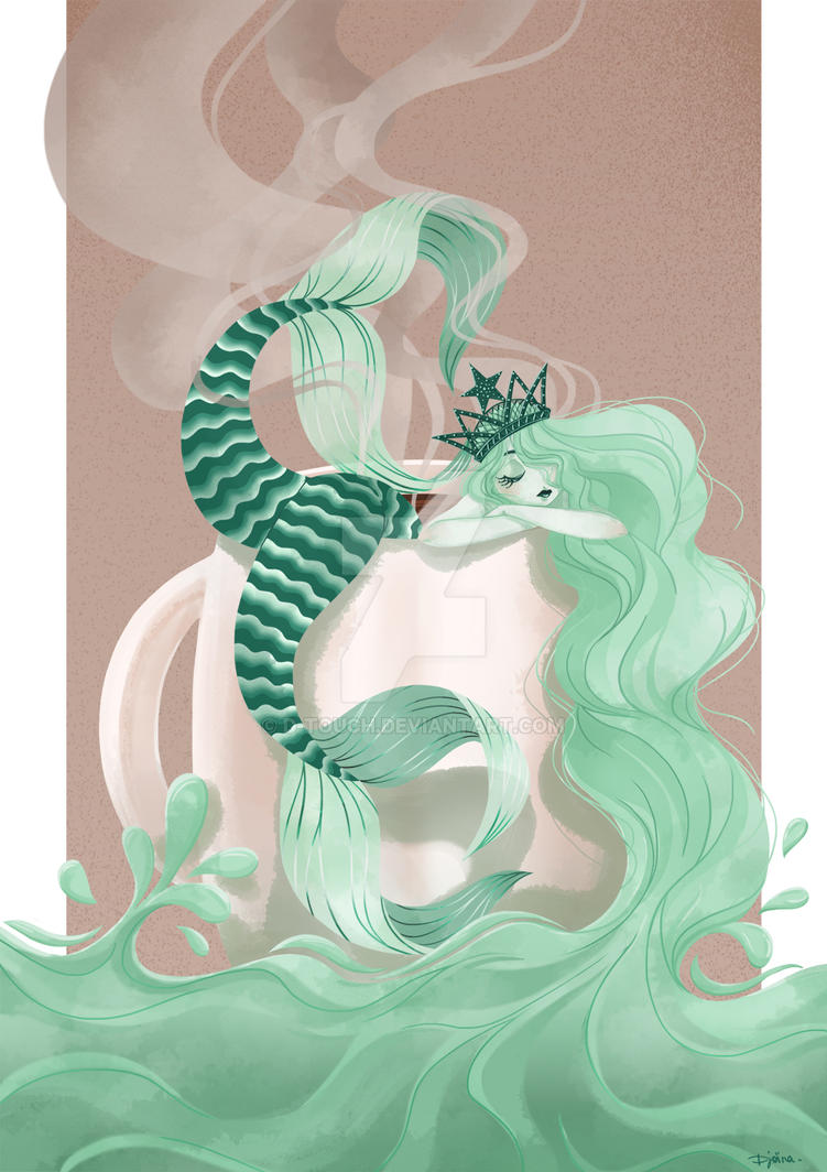 Starbucks mermaid by D-touch