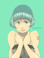 haircut by rahaina