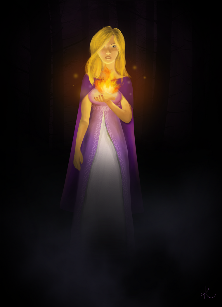Afraid of the dark - Draw It Again Challenge by sofoolkate