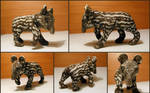 Baby Tapir Sculpture