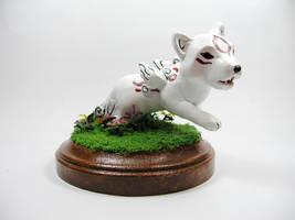 Okamiden Chibiterasu Sculpture