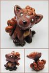 Baby Vulpix Sculpture