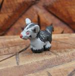 Mini Mightyena Sculpture