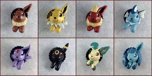 Eeveelution Pop-Out Buttons