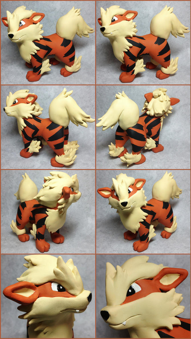 Arcanine Sculpture by LeiliaK