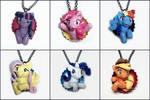 My Little Pony Pop-Out Bottle Cap Necklaces
