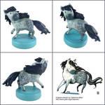 Dapple Horse Sculpture