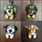 Custom Dog Pop-Out Sculptures