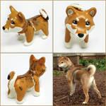 Brinley the Shiba Inu Pupple
