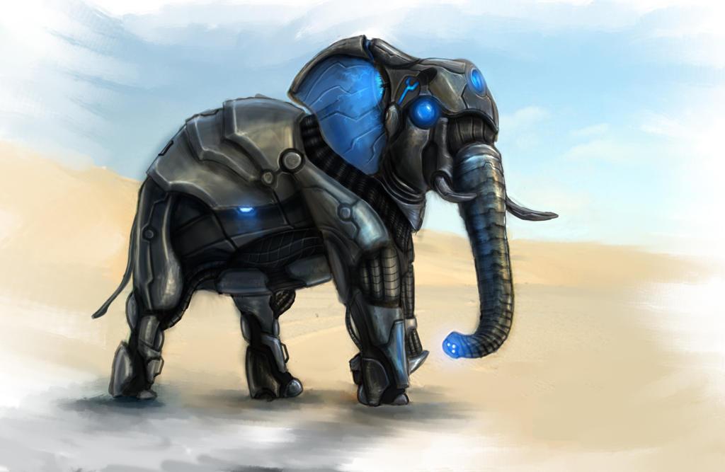 Deviantart Robot Animals